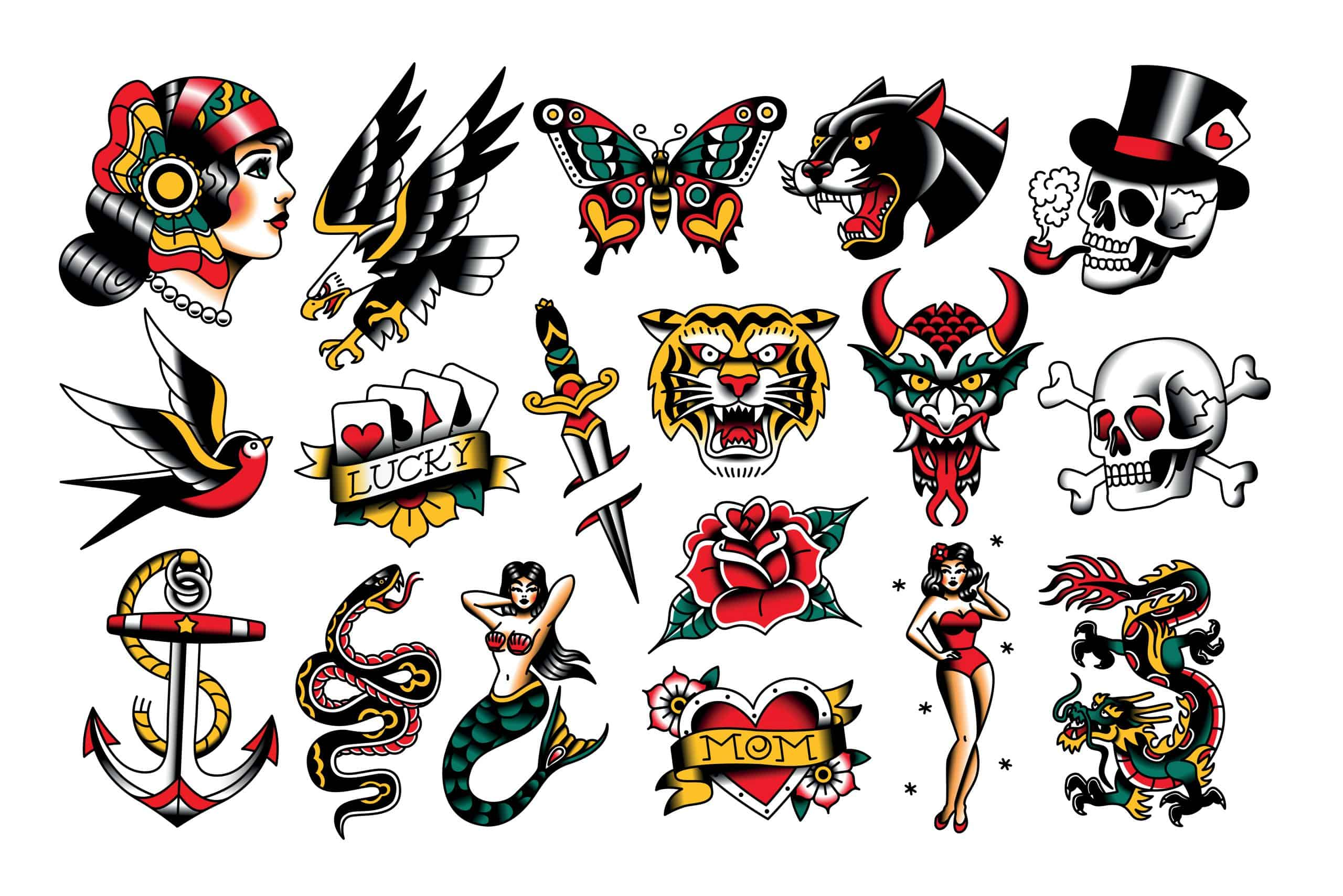 traditional tattoo examples
