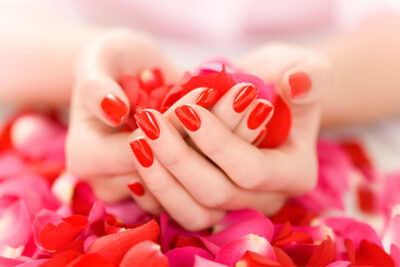 50 Red Nail Design Ideas