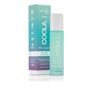 Coola Organic Makeup Setting Sunscreen Spray