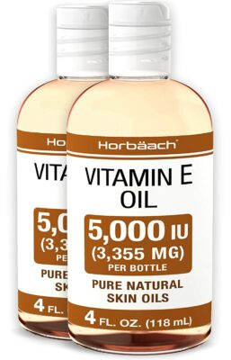 Horbaach Natural Vitamin E Oil
