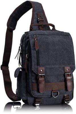 Leaper Retro Messenger Sling Bag