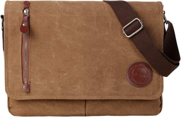 Mactso Vintage Canvas Satchel Messenger Bag