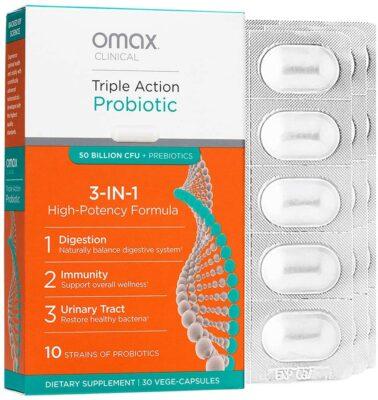 Omax Synbiotic Probiotic