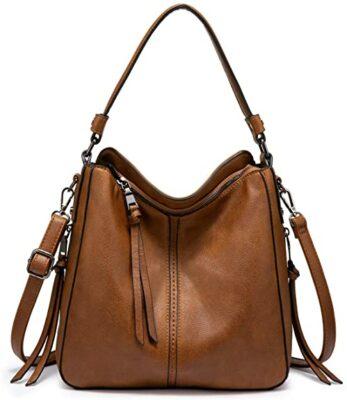 Realer Hobo Bucket Bag