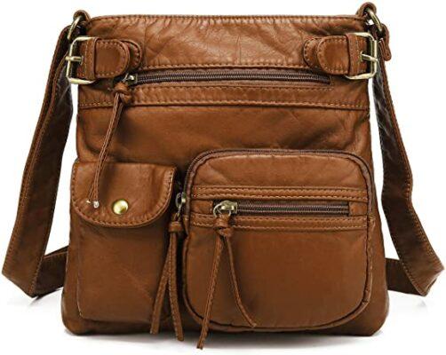 Scarleton Multi Pocket Crossbody Bag