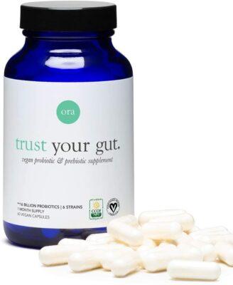 Trust Your Gut - Ora Organic Probiotics with Prebiotics