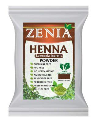 Zenia Pure Natural Henna Hair Dye