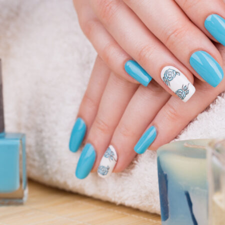 50 Blue Nail Ideas