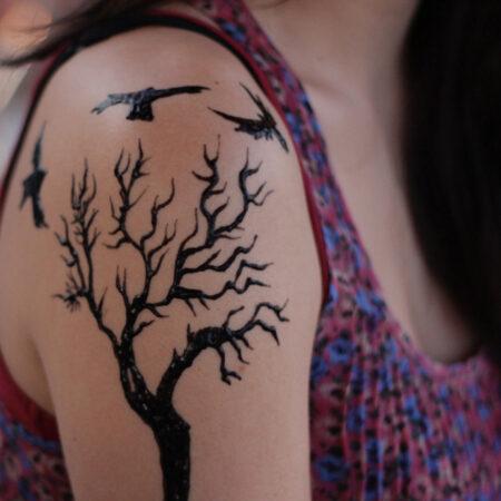 50 Family Tree Tattoo Design Ideas