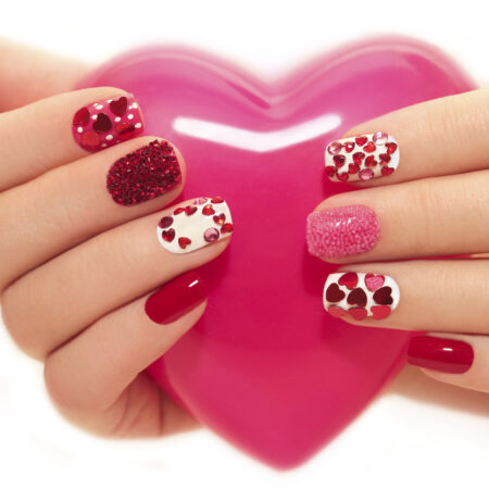 50 Valentine's Day Nails Ideas for a Cute Look