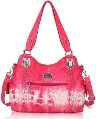 Angel Barcelo Roomy Hobo Handbag