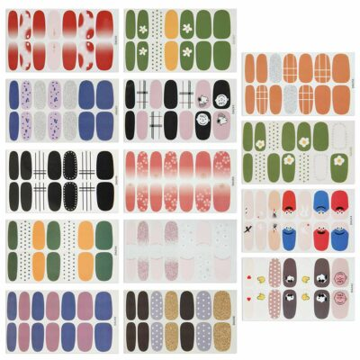 Augoog Nail Polish Stickers