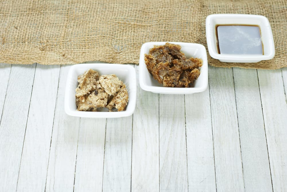 different types of African black soap