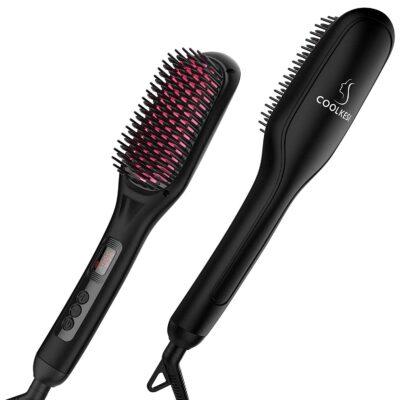 COOLKESI Hair Straightener Brush
