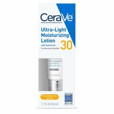 CeraVe Face Moisturizer With SPF 30