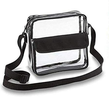 Clear Handbags & More Crossbody Messenger Bag