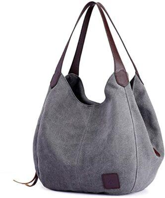 DOURR Multi-Pocket Canvas Bag