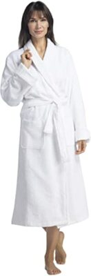 Fishers Finery Turkish Style Terry Spa Robe