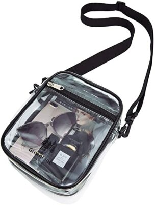 GreenPine Clear Messenger Bag
