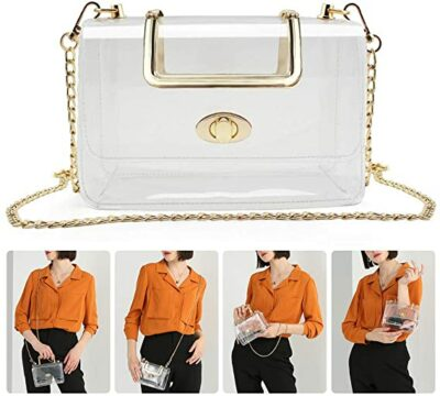 MOETYANG Transparent Clutch