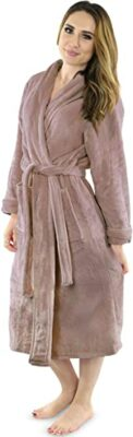 NY Threads Women's Fleece Bathrobe