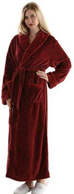 Oksun Full Length Fleece Robe