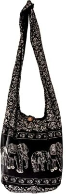 CCcollections Cotton Crossbody Sling Bag