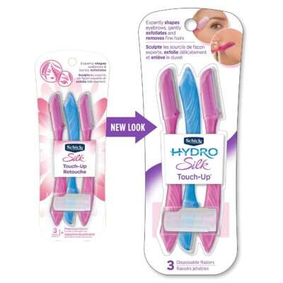 Schick Hydro Silk Touch-Up Multipurpose Exfoliating Dermaplaning Tool