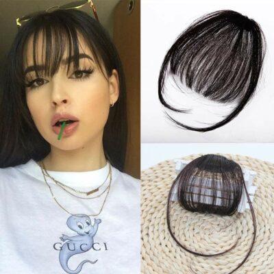 Swy Hair Clip-In Air Bangs