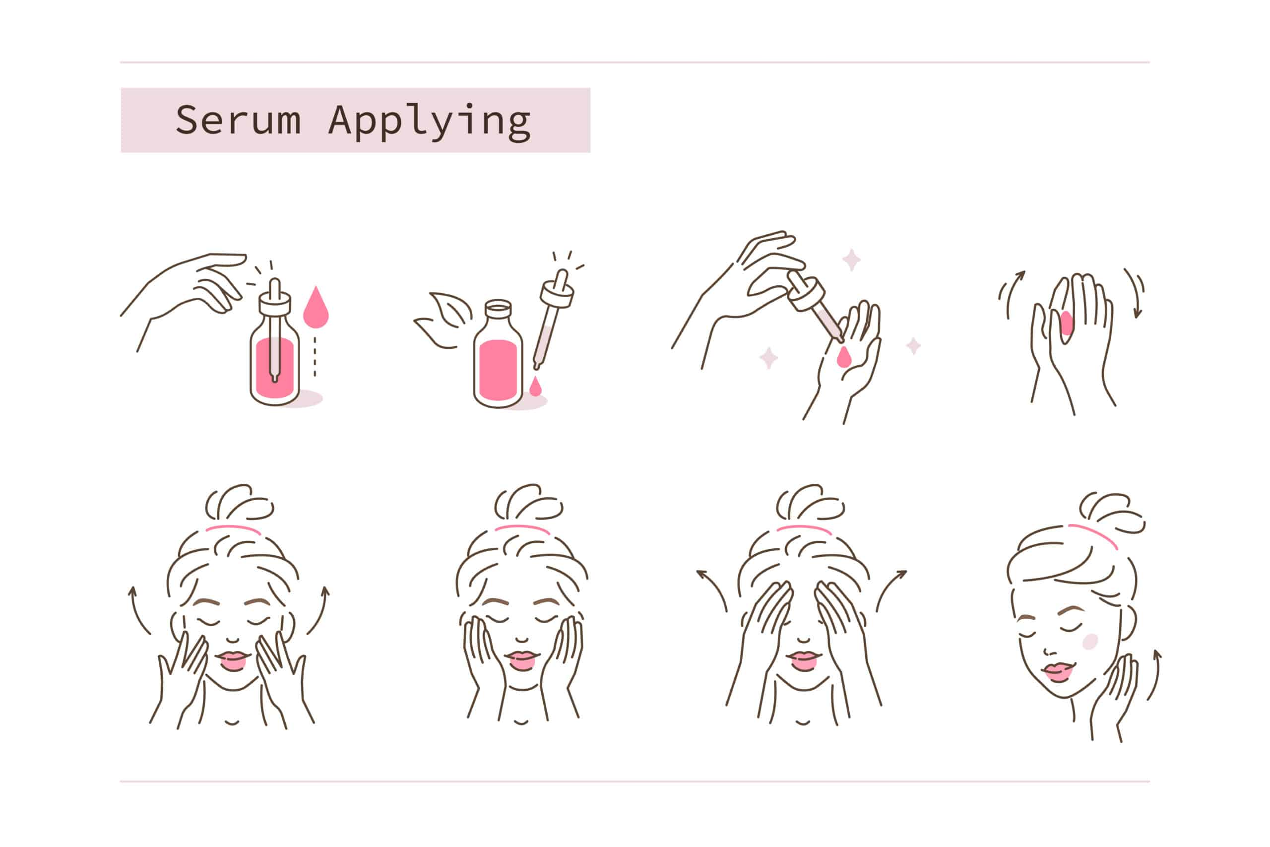 guide to applying face serum