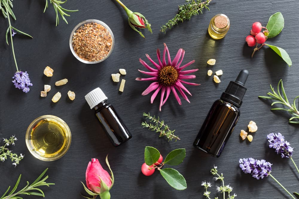essential oils and natural ingredients