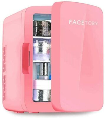 FaceTory Portable Coral Beauty Fridge