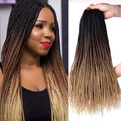 Flyteng Senegalese Twist Hair Crochet Braids