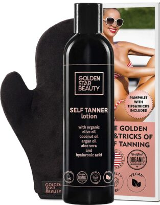 Golden Star Beauty Self Tanner Lotion