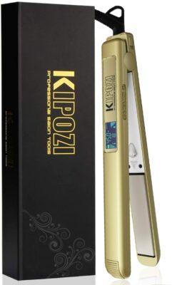 Kipozi Pro Titanium Flat Iron