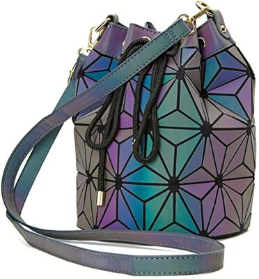 Parnerme Geometric Bucket Bag