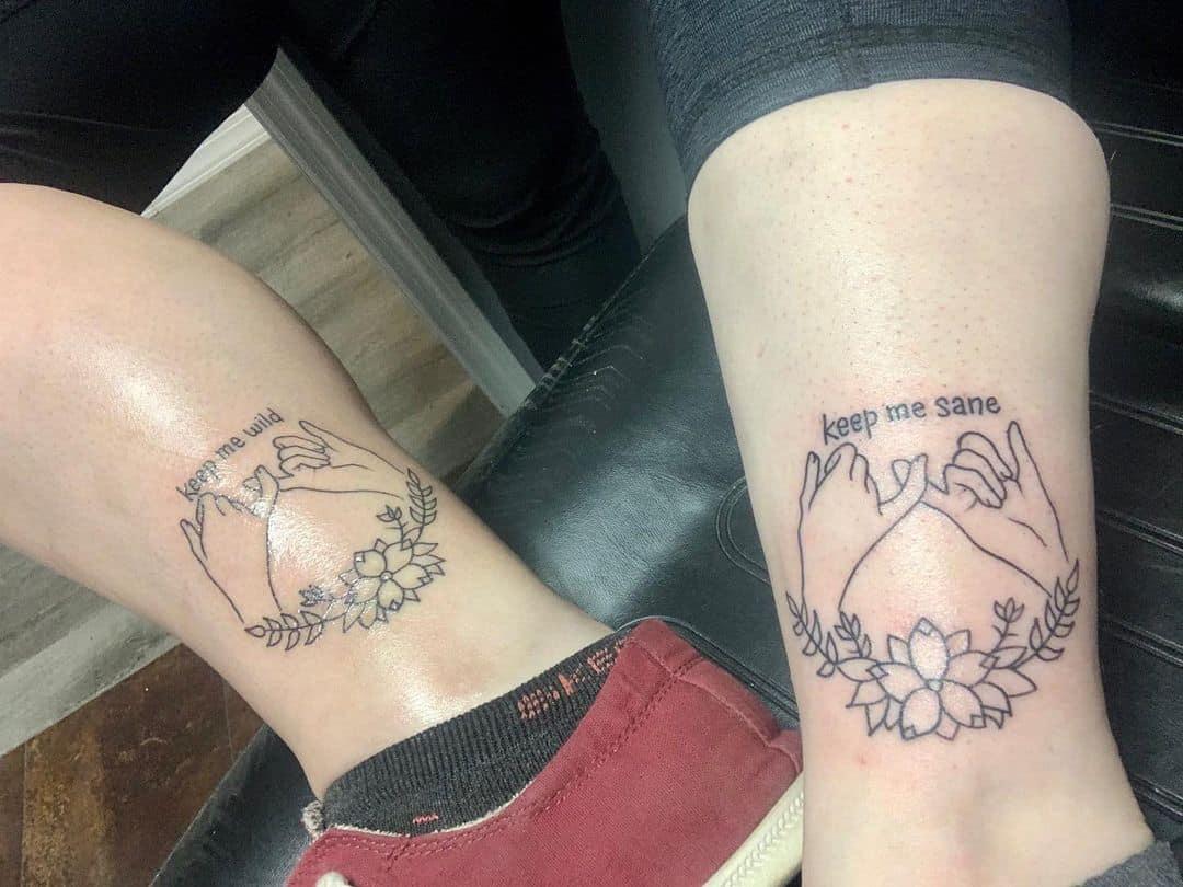 Risk fun tattoo no no 2pcs Bareback