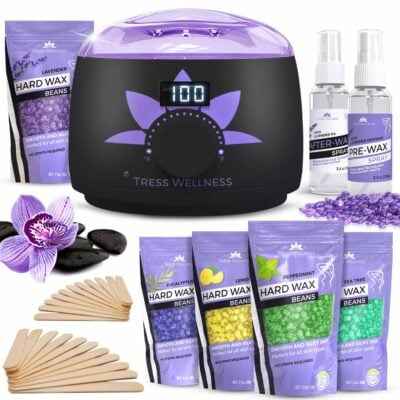 Tress Wellness Hair Removal Wax Kit
