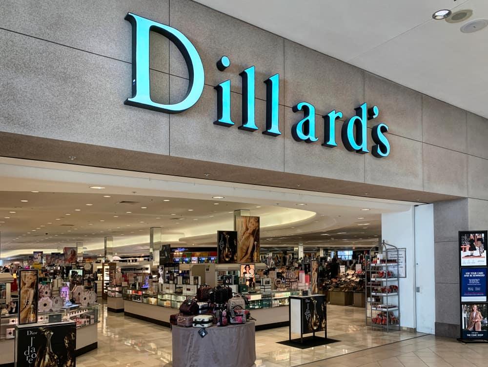 Dillard's in a mall