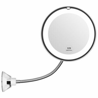 KEDSUM Flexible Gooseneck Magnifying Mirror