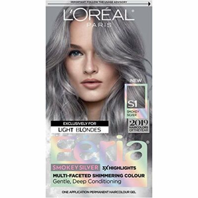 L'Oreal Paris Feria Permanent Hair Color Smokey Silver