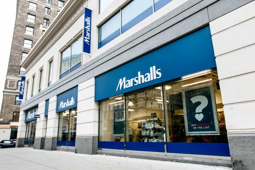Marshalls store in New York