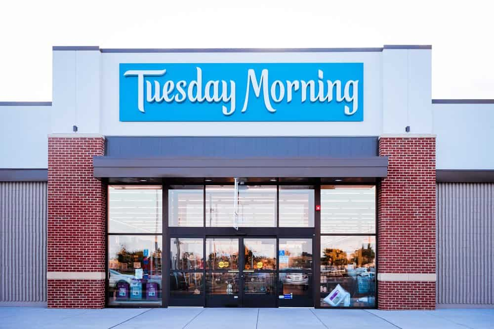 Tuesday Morning storefront
