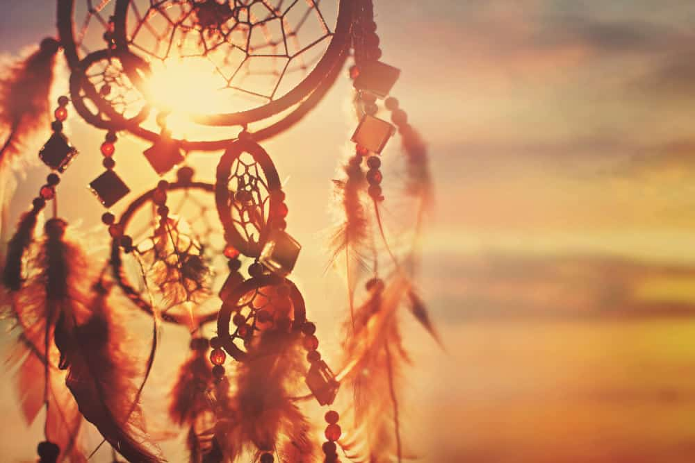 dreamcatcher sunset