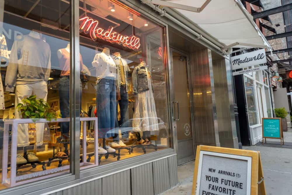 madewell display window