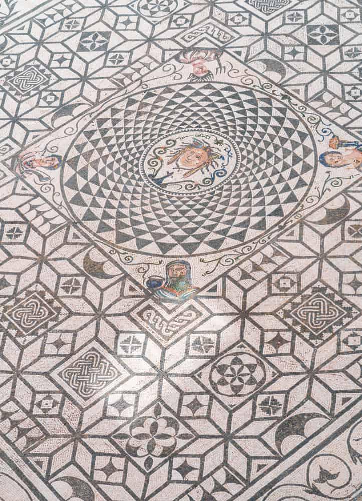 medusa floor mosaic