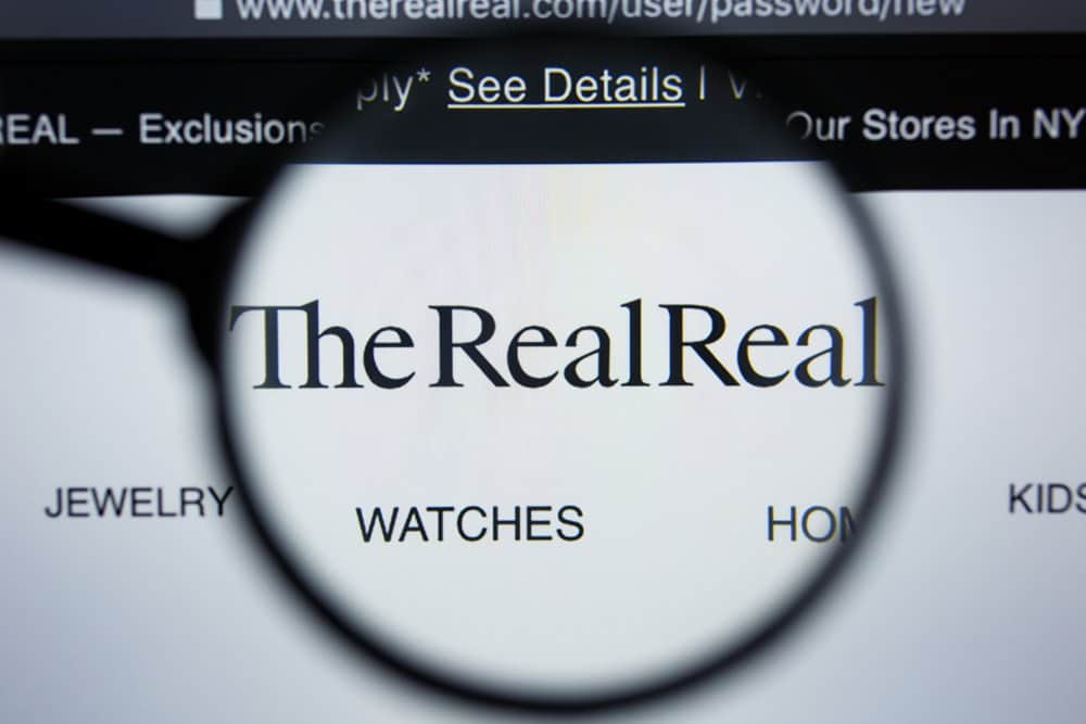 therealreal website logo