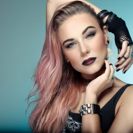 How to Wear Cute Punk Makeup