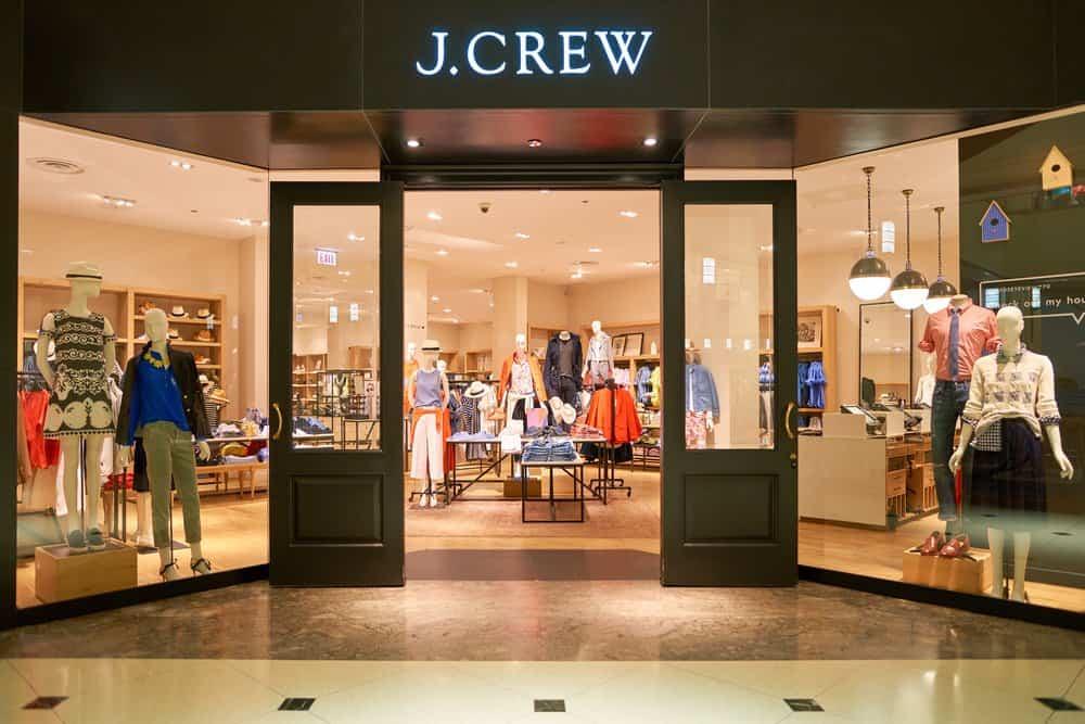 J.Crew storefront
