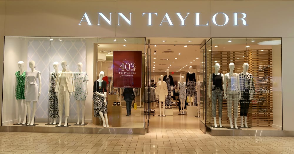 ann taylor storefront
